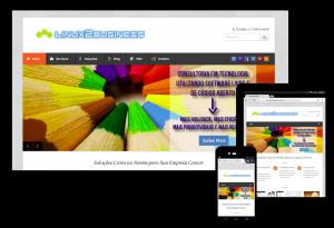Portfolio de Desenvolvimento de Site: Linux2Business